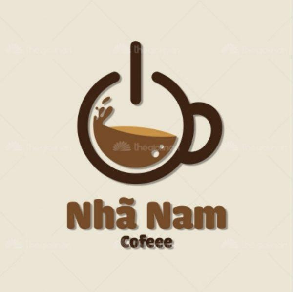 In tem nhãn cafe